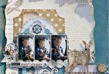 Scrapbook Layout Inspiration / by Tara Evans