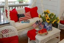 Celebrate the Red, White & Blue:  Fourth of July and Memorial Day / Celebrate America and all things red, white, blue and Americana / by Cupcakes and Crinoline