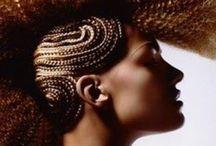Editorial hair art
