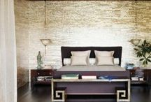 Wallcovering Ideas & Inspiration / Wallcovering ideas and inspiration from Maya Romanoff's installation photos and client projects.