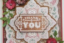 Lace Background Stamp