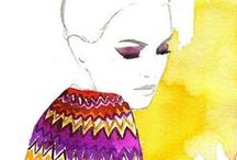 playing w/ b r u s h / Watercolor