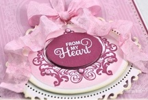 Antique Valentine Tags One