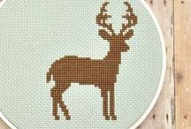 cross stitch / by Jodie Maloni - The Haby Goddess