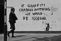STREET ART / graffiti / by Lola Ljungqvist