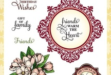 Circle of Love Vintage Labels Three
