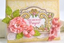 Floral Flourishes Background Stamp