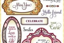 Enjoy the Day Vintage Labels Four