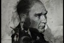 ATATÜRK / Leader,The father of a nation,our ancestor  A T A T Ü R K / by Erkin Kurt