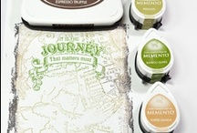 The Journey Background Stamp