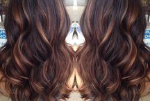 Brunettes / Beautiful brown hair ideas
