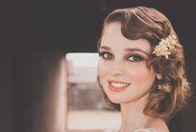 Vintage Brides / Vintage style hair ups