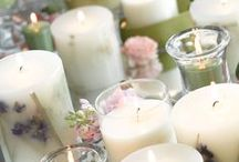 Candlescapes / Let Claire Burke help you decorate with amazing candlescape ideas.   Then gather all of your supplies at http://www.myclaireburke.com/all-candles