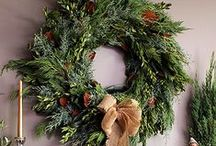 Fresh, Cool, and Crisp Winter Fir / With the seasonal transition in progress, we are all getting into the holiday spirit. Check out our fab ideas on decorating, festive notions, and the smell of a Fresh Fir!