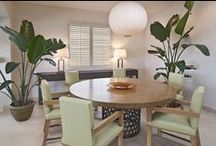 Earthy and Natural Design Inspiration / Natural, sustainable, environmentally conscious design for commercial and residential interiors.