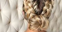 Hair and hairstyle / *do a hairstyle *ombre *blonde *bangs *braids