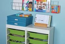 Kid's craft space