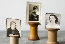 Heritage Craft Ideas / Create personalized gifts featuring your ancestors, relatives and family members!