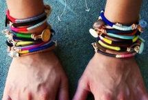 Arm Party / Cuffs, bangles, DIY and more..... / by Andrea Halpern