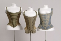 Corsets & Undergarments / Woman's Corsets and Undergarments  through time
