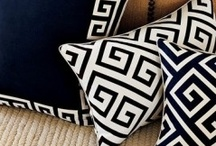 DECORATIVE THROW PILLOWS / For those of you who can't get enough of throw pillows with great designs, patterns and prints...I wish I could have them all! / by Sunny Rain