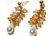 Beading - Earrings / Beaded earrings that were previously on my Beading board / by Kay Pucciarelli