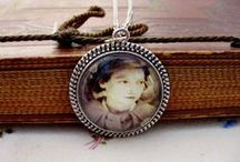 Esther's Place - My Etsy Shop / My Etsy shop featuring jewelry and gifts combining my love of family, genealogy and crafting. Find me at http://www.etsy.com/shop/EsthersHeritageGifts  / by Lisa Lisson