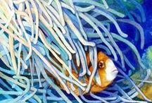 Art - Watercolours - Animal / by CHRISTO Philo