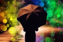 Raindrops Keep Falling on my Head / Umbrella's, parasol's, rain boots, raindrops, rainy pictures and anything else to do with rain / by Stephanie Lackey