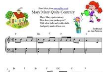 Nursery Rhymes / Nursery Rhymes and Children's Songs - easy sheet music