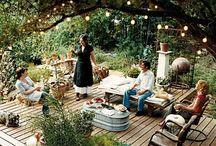 Backyard Inspiration / by Ineca