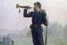 Bugles and Bugle Calls / A selection of bugle-related images and sheet music for well-known bugle calls. These bugles calls are used by various international military forces, today and historically.
