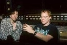 Danny Elfman scores / A selection of videos, soundtrack CDs and sheet music books of film scores composed by Danny Elfman, and other images related to the composer