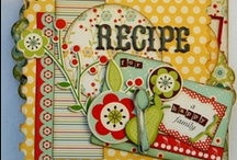 Scrapbooking - Cookbooks/Recipes / Ideas for a family cookbook done scrapbook style