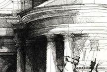 Archi Sketches / by CHRISTO Philo
