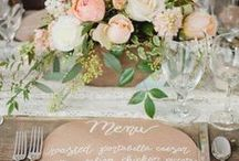Wedding Tablescapes / by Ineca