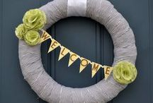 wreaths / home decor, decorations, handmade, crafts
