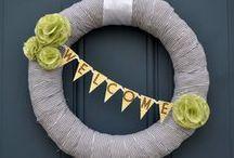 wreaths / home decor, decorations, handmade, crafts