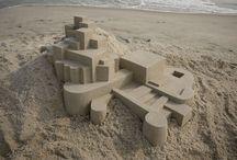 Art - Sand sculpture / by CHRISTO Philo