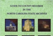 North Carolina Books for the Genealogist / Great resource books for those researching North Carolina ancestors. / by Lisa Lisson