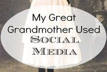 Genealogy & Social Media / Tips and Tricks for using social media alongside your genealogy research. You can use twitter, Pinterest, and Facebook as part of your research tools to find and share your ancestors.
