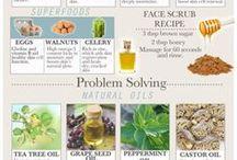 Natural Remedies X / Natural Remedies to make you beautiful X