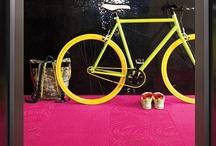 Color Splash :: Fuchsia & Yellow