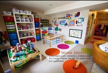 A Home School / Play Room / by (Megan) Our Scribbled Walls