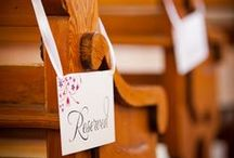 Invitations and Stationery:  reserved signs - neu events