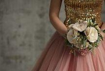 Blush Coffee & Gold {Wedding}