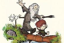 Hobbits, Dwarves, Elves, and Men