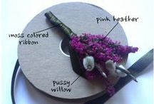 Events: Boutonnieres! / For the guys! Boutonnieres by Jen's Blossoms & other designers