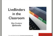 LIVEBINDERS / POSTING ON EDUCATIONAL LIVEBINDERS