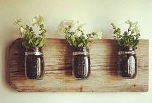 Reclaimed Wood / We love the rustic look that products made from reclaimed wood add to a room.